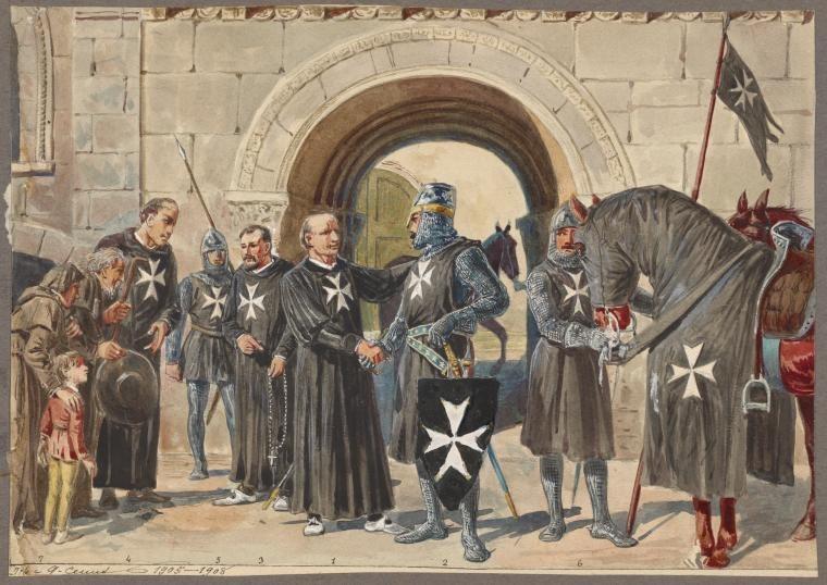 Картинки по запросу рыцарские ордена средневековья