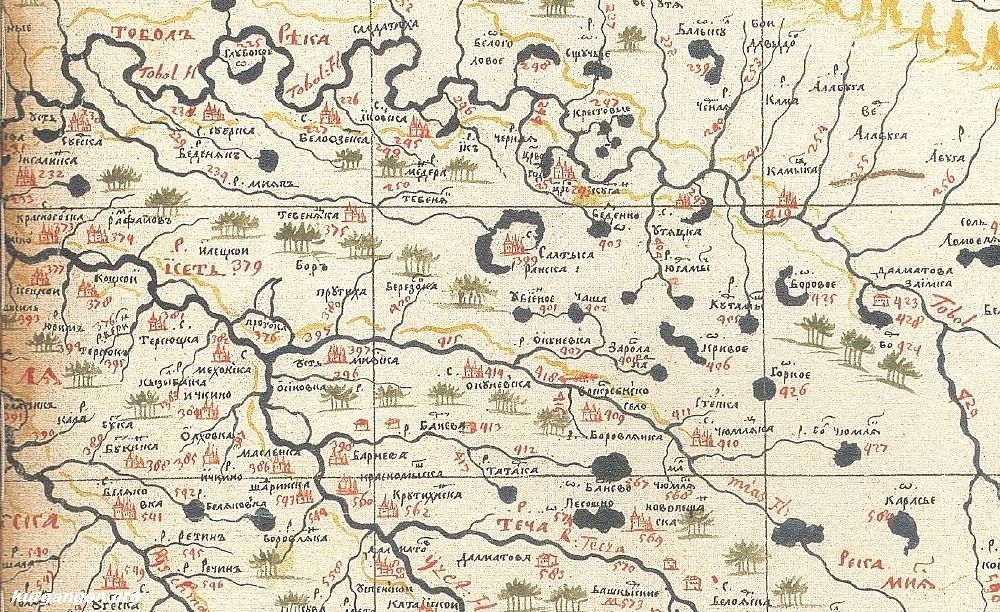 Древние сибирские города-призраки – до прихода Ермака