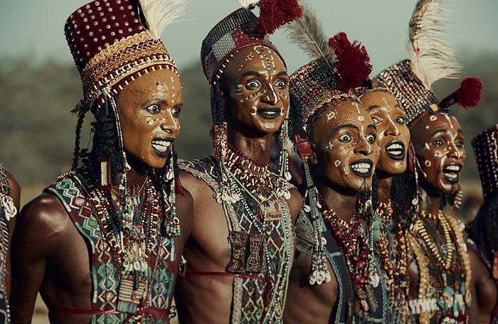 Племя Вудаабе в республике Чад.
